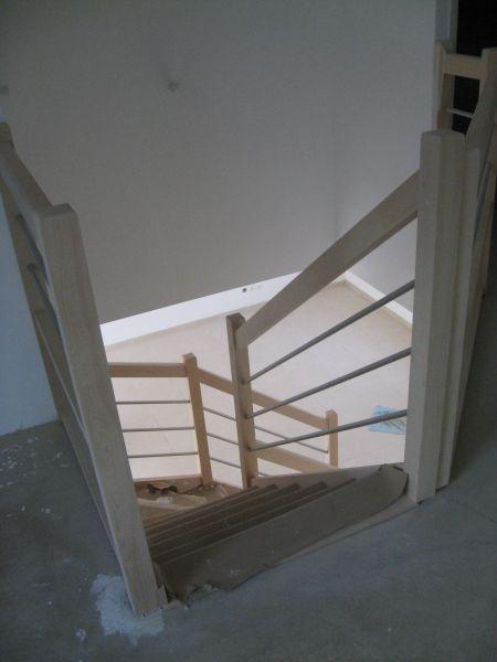 Le journal de notre maison derni res photos de l escalier for Maison de l escalier